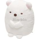 角落生物 絨毛玩具白熊M號/719-480