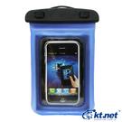 """【鼎立資訊】手機防水袋 半浮透粉4.7""""以下適用 iphone 4/5、三星 S3/S4、HTC 現貨"""
