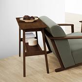 【本月家具特惠7折起】北歐森林 Elin日式長型邊桌/玄關桌(胡桃木色)-生活工場