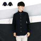 長襯-簡約直條紋長襯衫-簡約質感款《04...