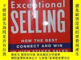 二手書博民逛書店Exceptional罕見selling: How the be