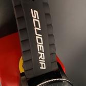 星晴錶業-FERRARI法拉利男錶,編號FE00006,50mm黑錶殼,深黑色錶帶款