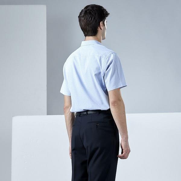 【Emilio Valentino】范倫鐵諾商務休閒襯衫_藍格