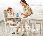 Gromast便攜式寶寶餐椅兒童餐桌椅子多功能嬰兒吃飯可折疊座椅-大小姐韓風館
