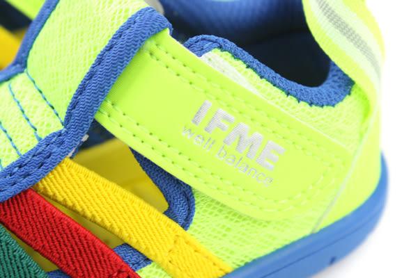 IFME 運動鞋 童鞋 黃色 小童 no031