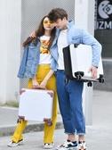 迷你行李箱輕便小型登機拉桿箱20女密碼旅行箱子男18寸韓版小清新  蘑菇街小屋 ATF