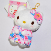 Hello Kitty 浴衣 和服 玩偶 吊飾 日本正版品