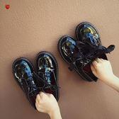 小皮鞋娃娃鞋韓國ulzzang原宿小皮鞋女學生復古百搭英倫學院  凱斯盾數位3C