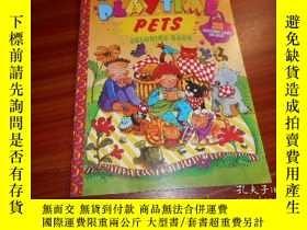 二手書博民逛書店DLAYTIME罕見PETS COLORING BOOKY204