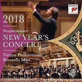 2018維也納新年音樂會 黎卡多慕提 & 維也納愛樂 CD 雙片裝 (OS小舖)