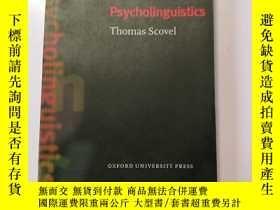 二手書博民逛書店Psycholinguistics罕見(oxford Intro