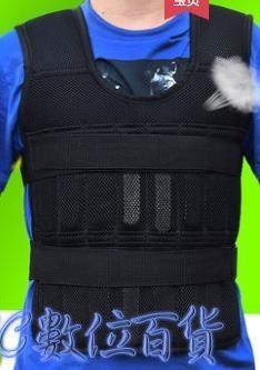 負重裝備跑步鉛塊負重背心鋼板沙衣隱形超薄男訓練加沙袋馬甲裝備運動全套 3C數位