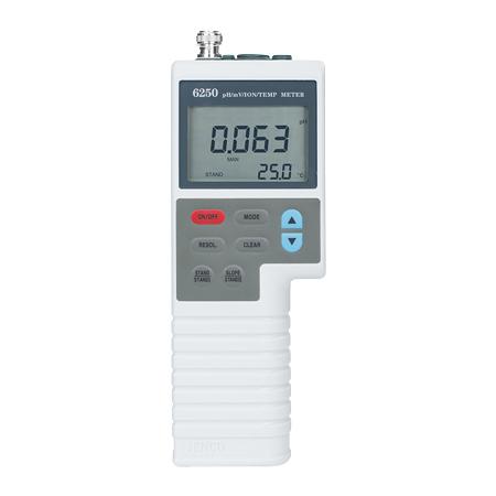 《JENCO》掌上型 pH/ORP/ION計 6250 PH/ORP Meter