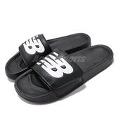 New Balance 拖鞋 NB 200 黑 白 男鞋 女鞋 運動拖鞋 【ACS】 SMA200B1D