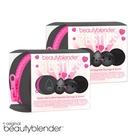 beautyblender 原創美妝蛋竹炭閨蜜限量組 起值2入組-晶鑽黑美妝蛋+清潔皂+迷你洗潔器+收納包 - WBK SHOP
