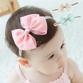 雪紡金絲氣質蝴蝶結造型髮帶 兒童髮飾 髮帶