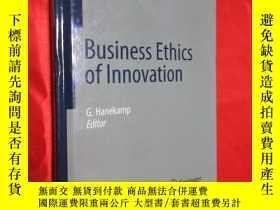 二手書博民逛書店Business罕見Ethics of Innovation (