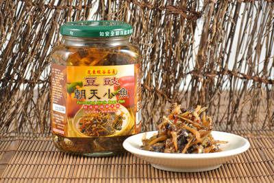 『好醬園』朝天辣椒醬-豆豉小魚乾