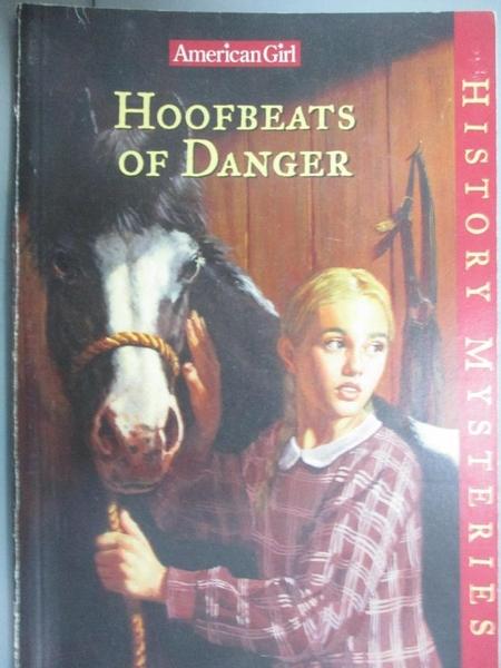 【書寶二手書T2/原文小說_HBF】Hoofbeats of Danger (American Girl History