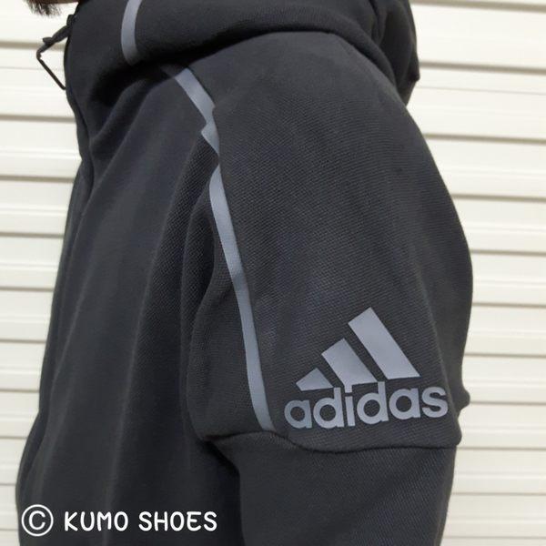Adidas ZNE Hoodie 連帽外套 貝克漢 彭于晏 林書豪 黑