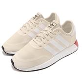 adidas 休閒鞋 N-5923 W 米白 白 基本款 透氣網布 復古外型 慢跑鞋 女鞋【PUMP306】 AQ1132