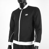 Yonex [16511TR007] 男 外套 運動 休閒 訓練 吸濕 排汗 速乾 輕量 舒適 透氣 黑白