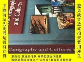二手書博民逛書店英文原版書罕見WORLD GEOGRAPHY AND CULTU