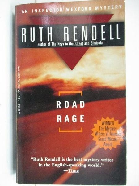 【書寶二手書T3/原文小說_A2Y】Road Rage_Ruth Rendell