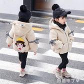 女寶寶洋氣外套新款1-2-3-4歲韓版秋冬季加絨加厚公主女童裝 一米陽光