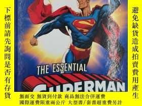 二手書博民逛書店The罕見Essential Superman Encyclop