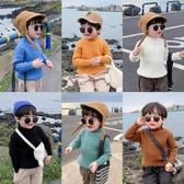 童裝男童毛衣套頭兒童半高領針織衫寶寶加厚【時尚大衣櫥】