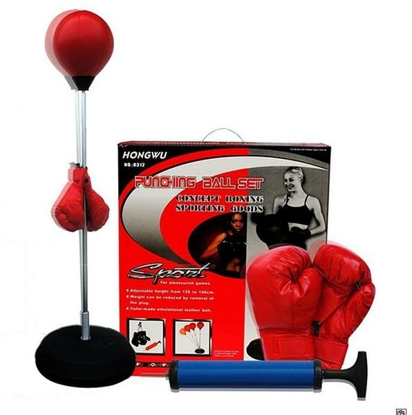 樂達數位 拳擊訓練器 健身器 訓練台 健身 拳擊沙包 壓力發洩 有氧運動