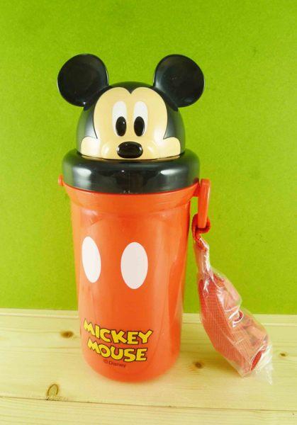 【震撼精品百貨】Micky Mouse_米奇/米妮 ~吸管水壺-紅米奇