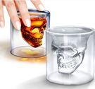 創意酒杯 水晶造型骷髏杯 玻璃杯 威士忌杯