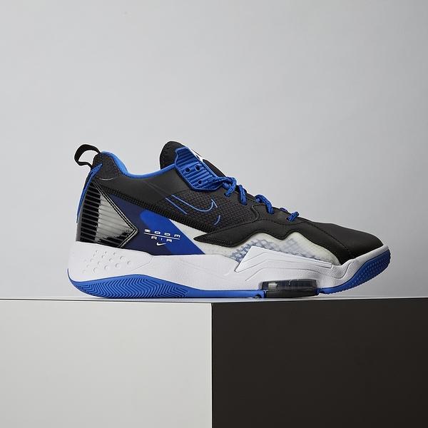 Nike Jordan Zoom 92 男鞋 黑藍 氣墊 避震 包覆 運動 籃球鞋 CK9183-004