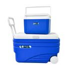Debuy 拖輪冰桶組47L+9.4L 露營/野餐/親子/便攜/保冰桶/夏天