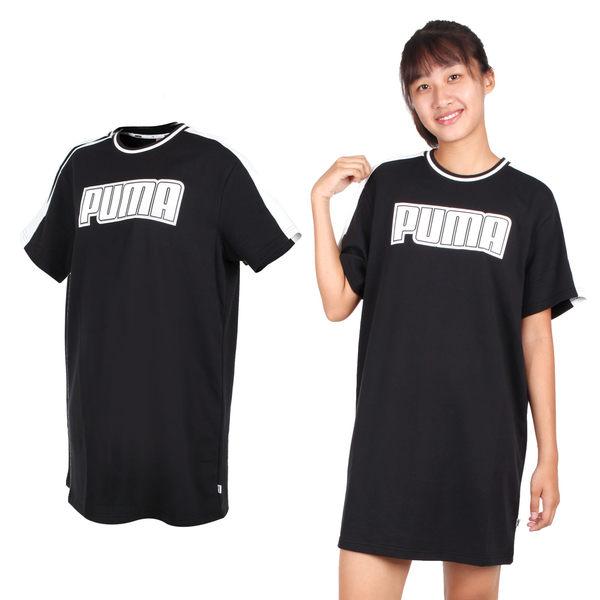 PUMA 女基本系列短袖T恤連身裙(裙子 免運 ≡排汗專家≡