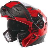【東門城】ASTONE RT1000 AB6(平紅黑) 可掀式安全帽 內藏墨鏡片