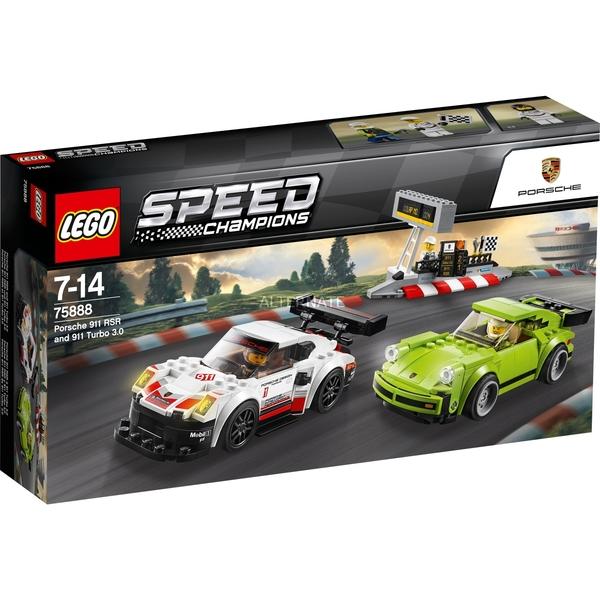 【LEGO 樂高 積木】75888 超級賽車 Speed Champions Porsche 911 RSR and 911 Turbo 3.0