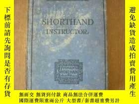 二手書博民逛書店老版.罕見Pitman s Shorthand Instructor: A Complete Exposition
