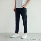 【GIORDANO】 男裝3M機能修身束口褲 - 09 標誌黑