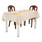 歐式餐桌布防水防燙防油免洗長方形茶幾布酒店圓桌布方台布【快速出貨八五折】