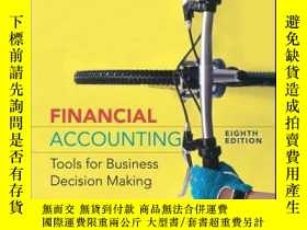 二手書博民逛書店Financial罕見Accounting: Tools for Business Decision Making