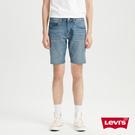 Levis 男款 修身版牛仔短褲 / 復古水洗工藝 / 天絲棉 / 彈性布料