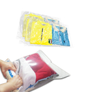 《附專用封口夾》行家首選真空收納袋/真空壓縮袋 免用吸塵器式【手捲式大6入】~賣點購物