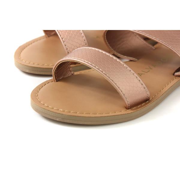MALVADOS ICON 經典系列 涼鞋 拖鞋 玫瑰金 女鞋 寬版 3009-2171 no029