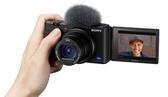 【震博】Sony ZV-1 側翻螢幕4K高畫質相機 (台灣索尼公司貨;可翻轉式LCD)預購~送黑色相機皮套