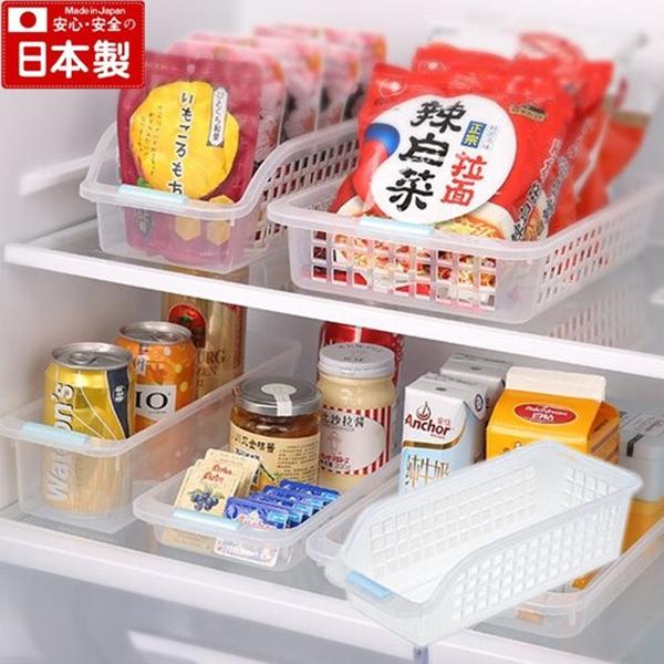 【日本製】【Inomata】日本製 冰箱收納深型籃 透明(一組:10個) SD-13670 - Inomata