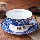 骨瓷咖啡杯套裝歐式小奢華茶杯