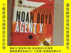 二手書博民逛書店Agent罕見X 特工代號X Noah Boyd 著Y85718